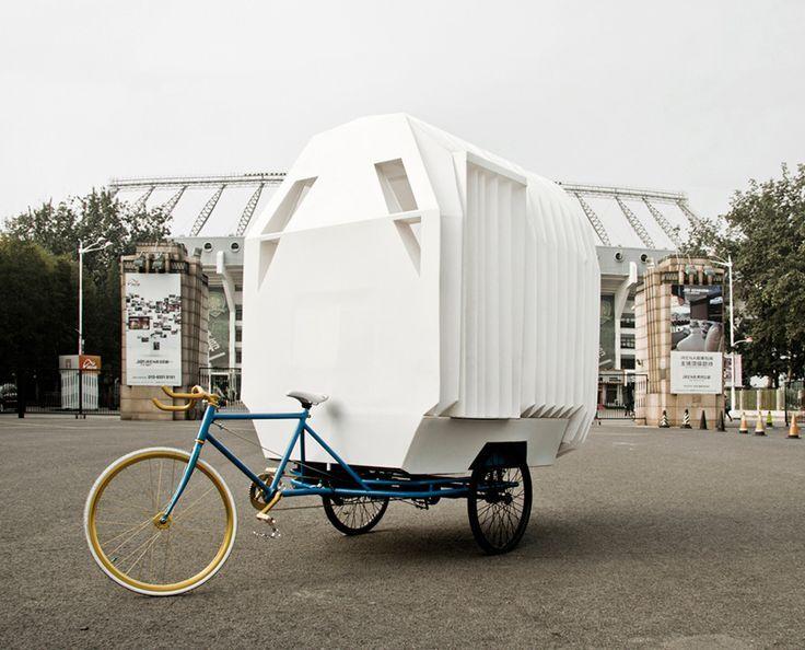 Le bureau se fait nomade bikes pinterest industrial office