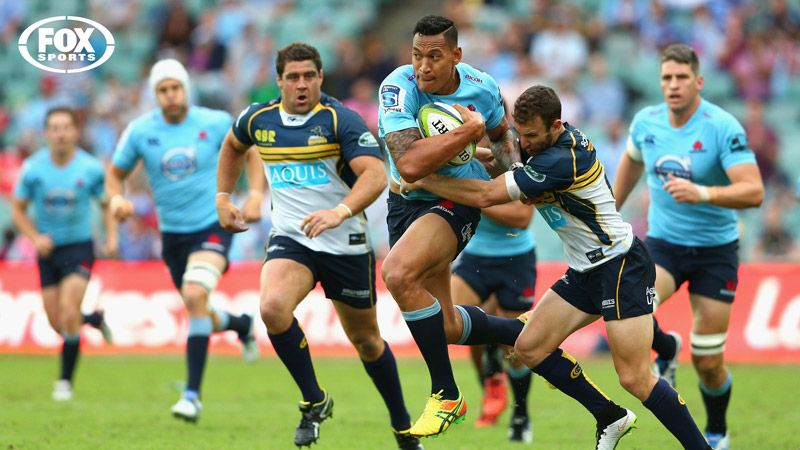 Brumbies vs reds rugby sports running