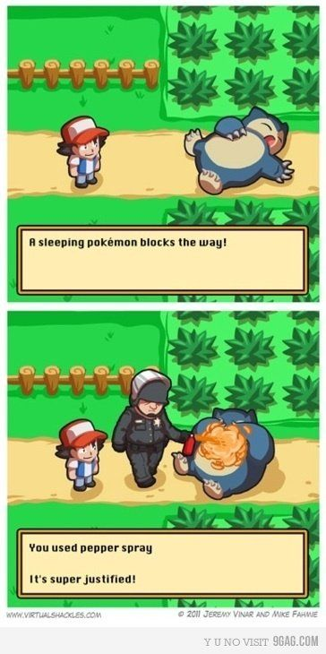 Poor Snorlax ;o