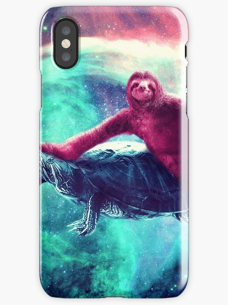 97b875ad8 Buy 'Crazy Funny Space Sloth Riding On Turtle' by SkylerJHill as a T-