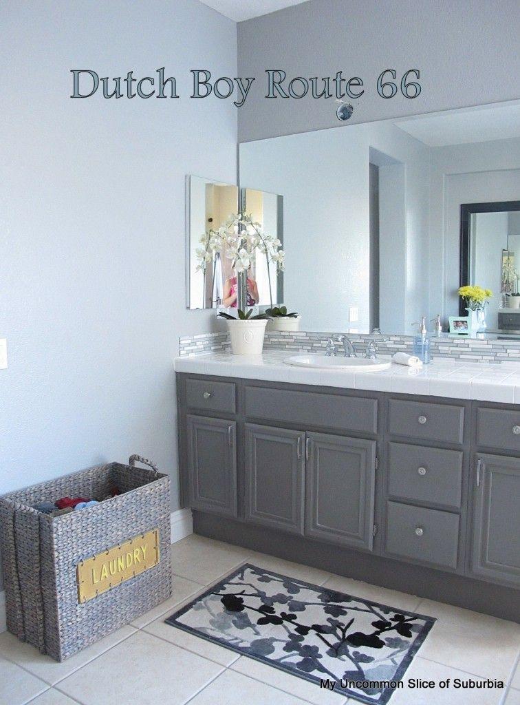 Dutch Boy Route 66 | For the Home | Bathroom paint colors ...