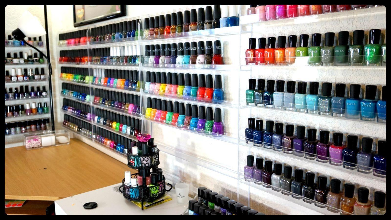EPIC Nail Polish Collection & Storage!!!