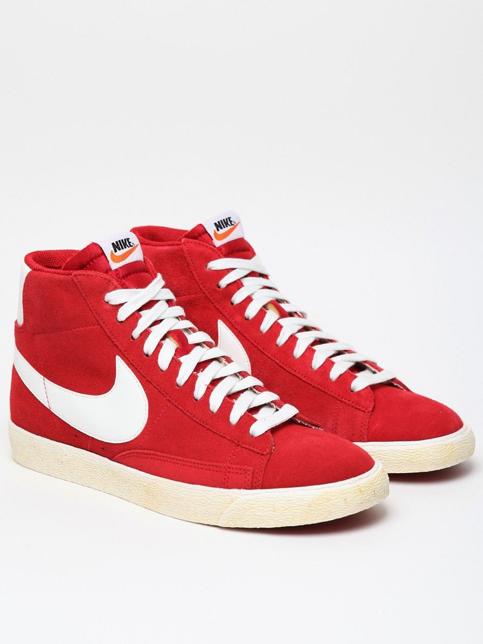 c18749f883a3 Nike Men s Blazer High Vintage Sneaker. I like these but I hate the color.  Red is waaaaay too loud for me. Perhaps something more conservative like  white