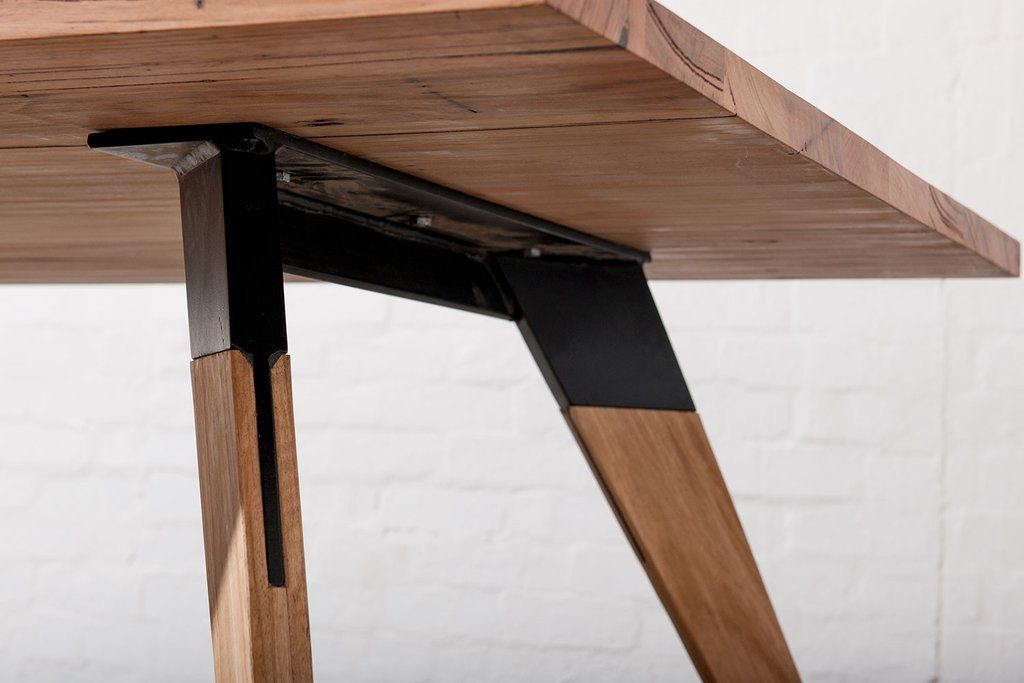 Industrial Dining Tables Melbourne Timber Dining Table
