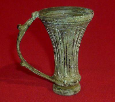 ROMAN Ancient Artifact - BRONZE CUP / BOWL  200-400 AD    -3385- https://t.co/i0dPKUexKl https://t.co/gOltlydZcB