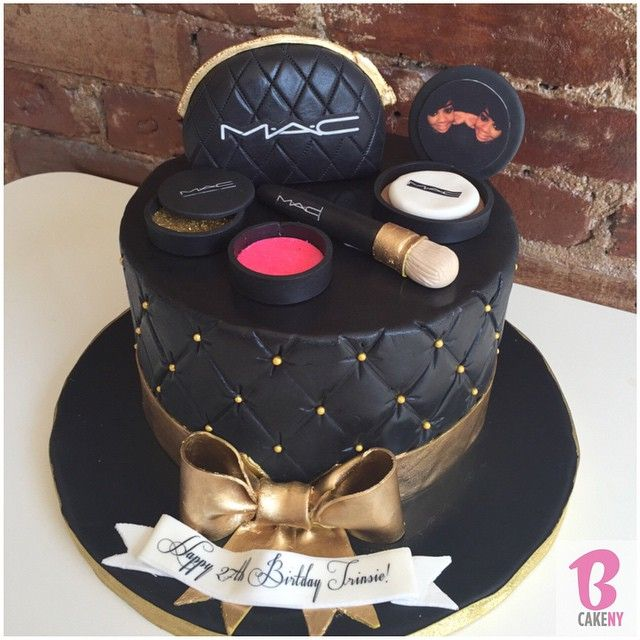 Mac Make Up Birthday Cake Make Up Cake Makeup Birthday Cakes Cake