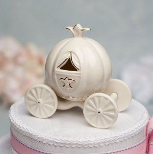 Cinderella Pumpkin Coach Wedding Cake Topper Cooking Food