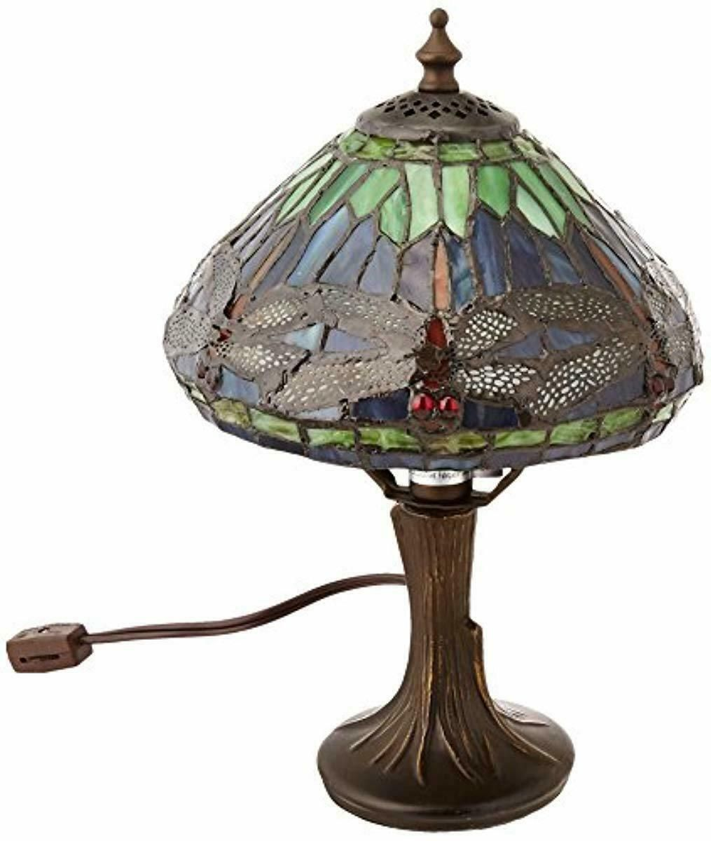 Dale Tiffany 7601 521 Dragonfly Table Lamp Antique Brass And Art Glass Shade Tiffany Lamps Ideas Of Tiffany Table Lamp Lamp Dragonfly Floor Lamp