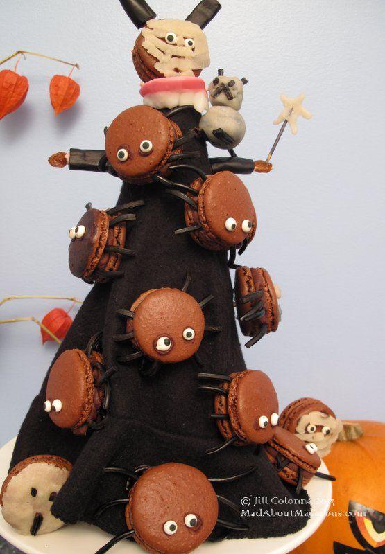 Top 10 Halloween Macaron Ideas | Mad about Macarons