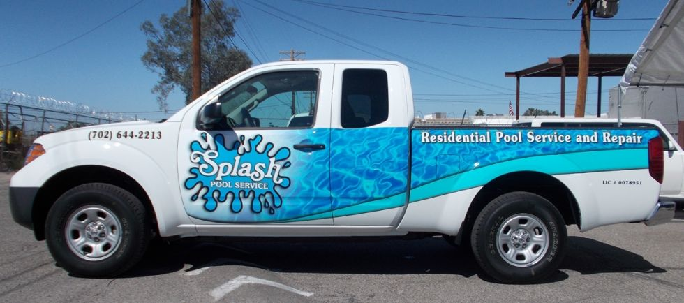 be17ea4ad0 Vehicle Wraps  amp  Graphics - Speedway Signs Pool Service