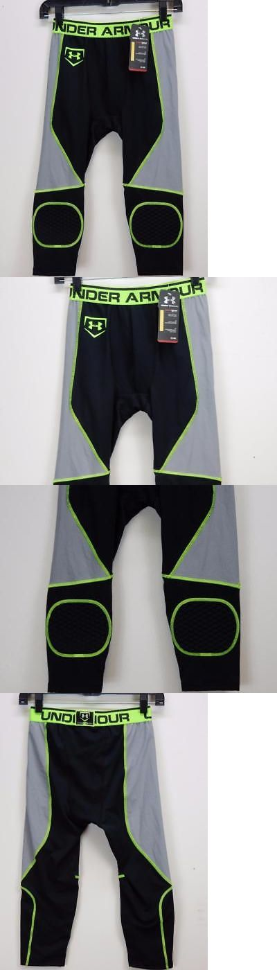 Baseball Pants 181337: Nwt$55 Men Under Armour Compression Game Day 17 Extended Sliding Shorts Size S -> BUY IT NOW ONLY: $31.18 on eBay!