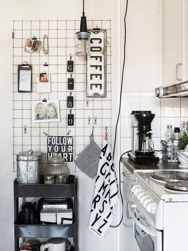 Vielleicht ein kleine Gitter für den Küchenbereich?
