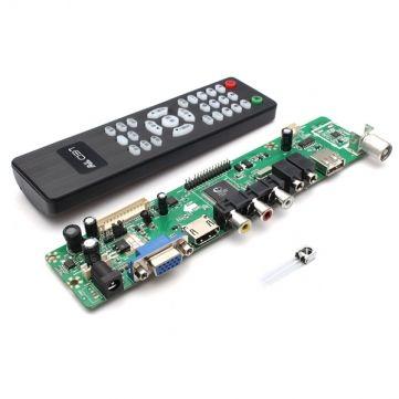 V29 Universal LCD Controller Board TV Motherboard VGA/HDMI/AV/TV/USB