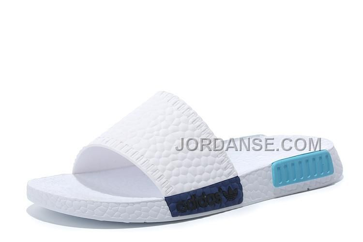 f2df5fcaa www.jordanse.com ... ADIDAS NMD SANDALS WHITE BLUE NEW RELEASE Only ...