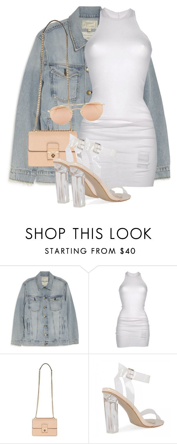 """""""Untitled #3648"""" by xirix ❤ liked on Polyvore featuring Current/Elliott, DRKSHDW, Dolce&Gabbana and Ray-Ban"""
