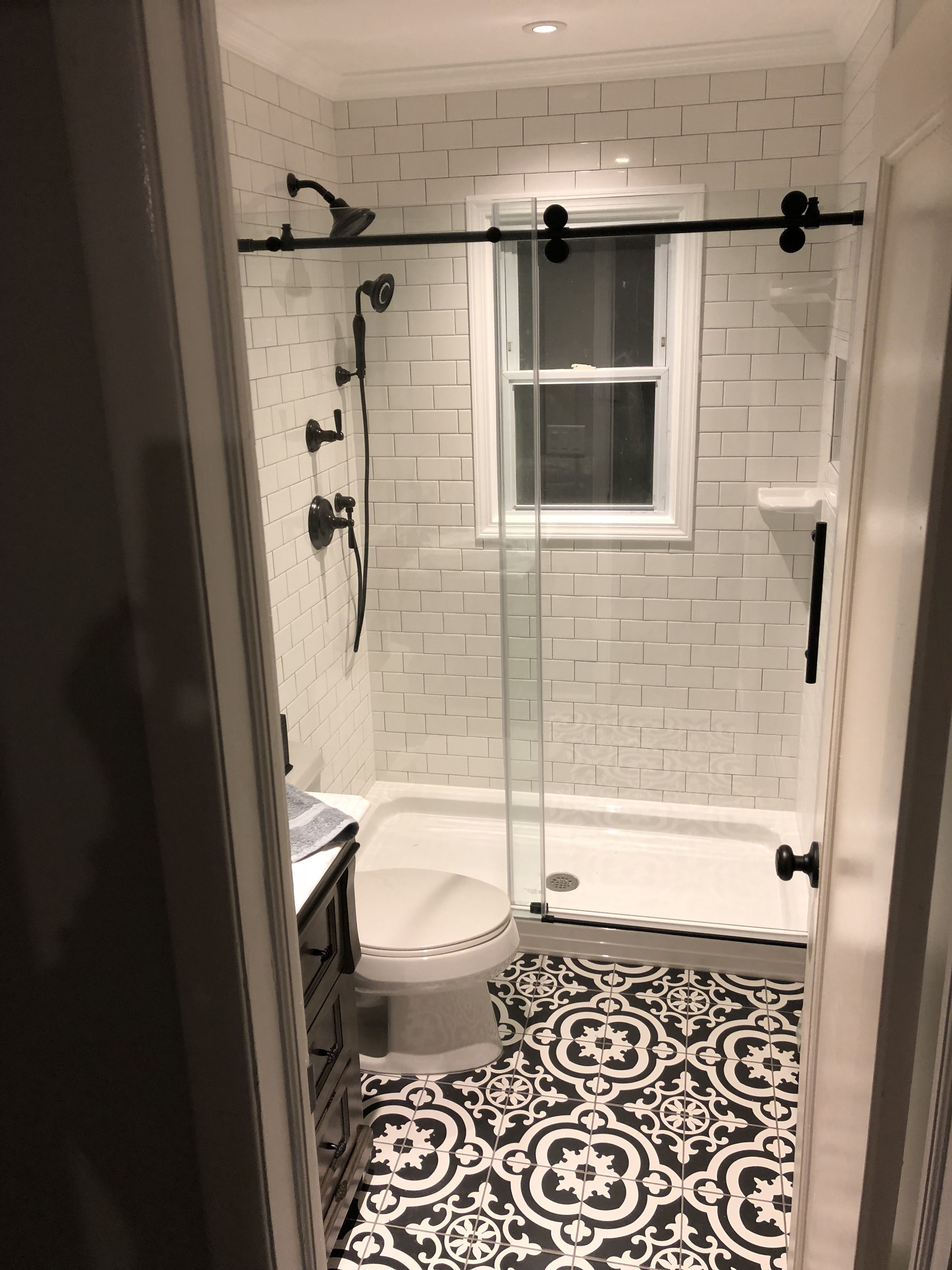 DIY vintage rustic bathroom remodel | Home renovation inspirations ...