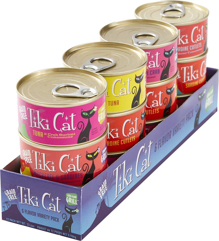 is tiki cat food good