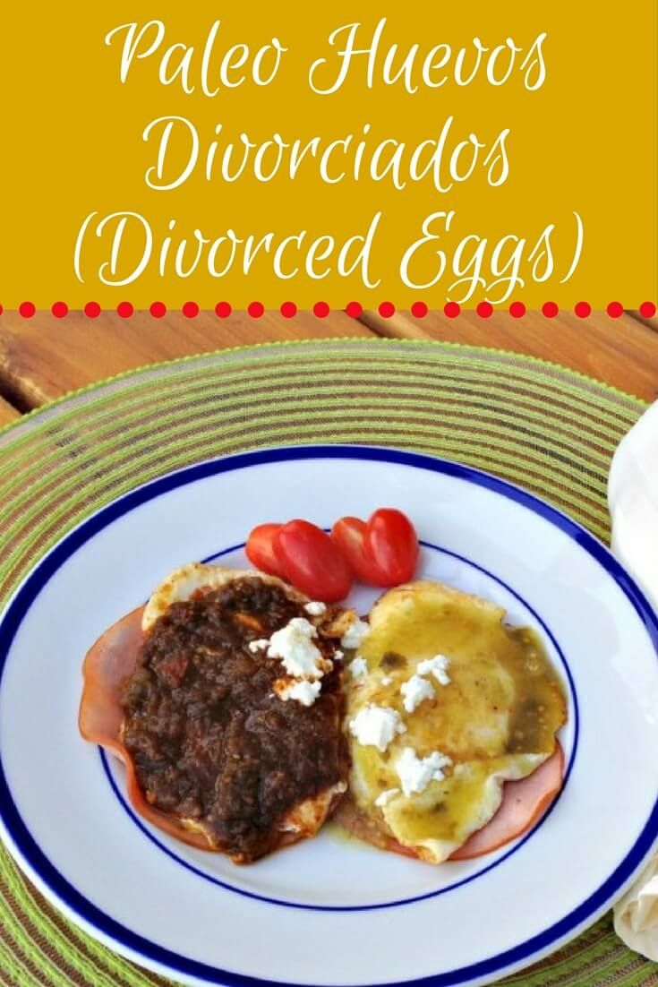 Paleo huevos divorciados divorced eggs recipe mexican eggs delicious mexican egg dish that is easy and delicious includes both paleo and non forumfinder Choice Image