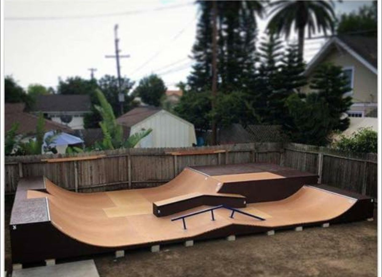 Nice Backyard Funland | SKATE BOARD DECKS | Pinterest ...