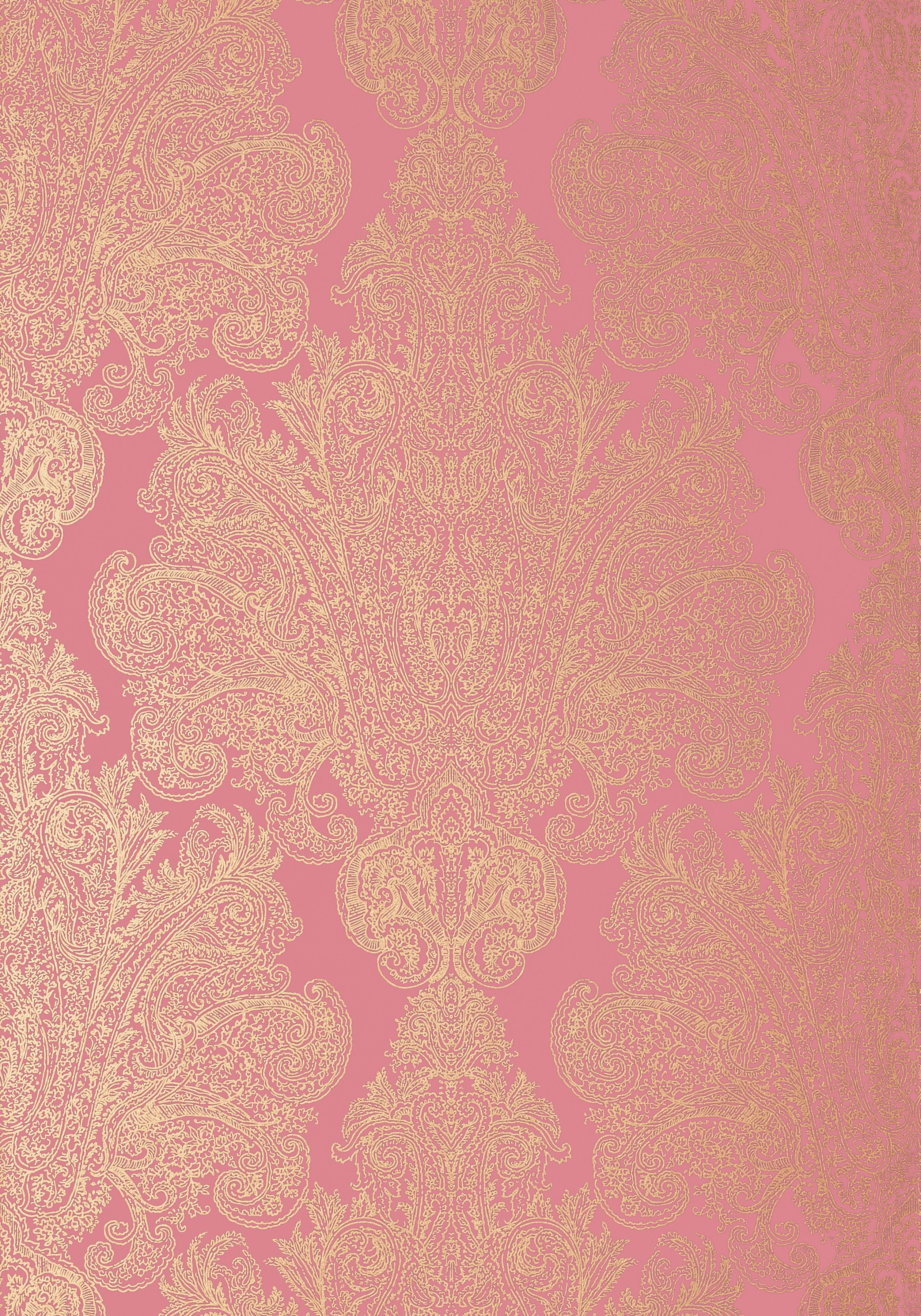 AUBURN, Metallic Gold on Pink, AT6103, Collection Serenade