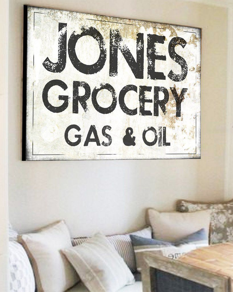 Family Name Sign  Wall Decor  Modern Farmhouse Sign is part of decor Styles Names - Looking for a modern farmhouse family name sign  Our family name canvas sign will be sure to add that fixer upper rustic detail to your home  We know you look high and low for the perfect sign for your farmhouse, but when you find it it doesn't fit your space  With our designs you can add that rustic detail and it will