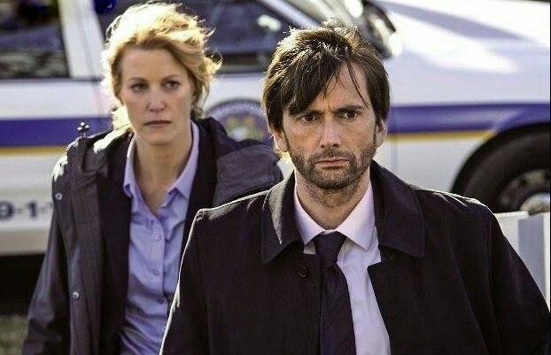 David and Anna Gunn in Gracepoint