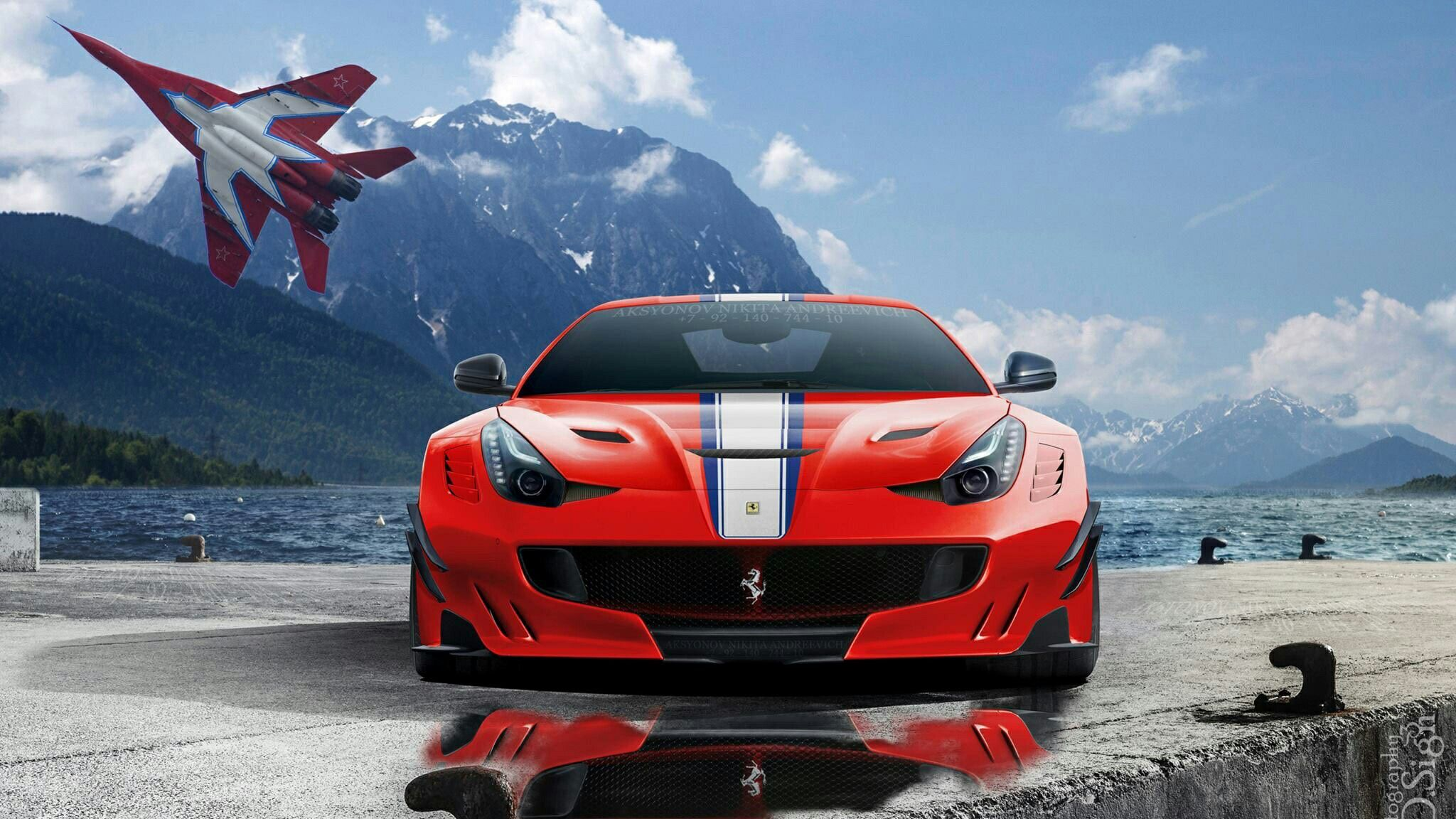 Pin By About Noor On Car 1 With Images Car Wallpapers Ferrari