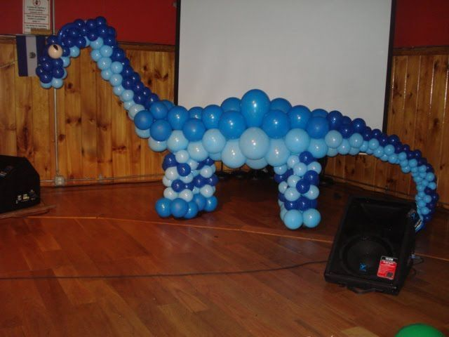 blue dinosaur sculpture balloon - Google Search