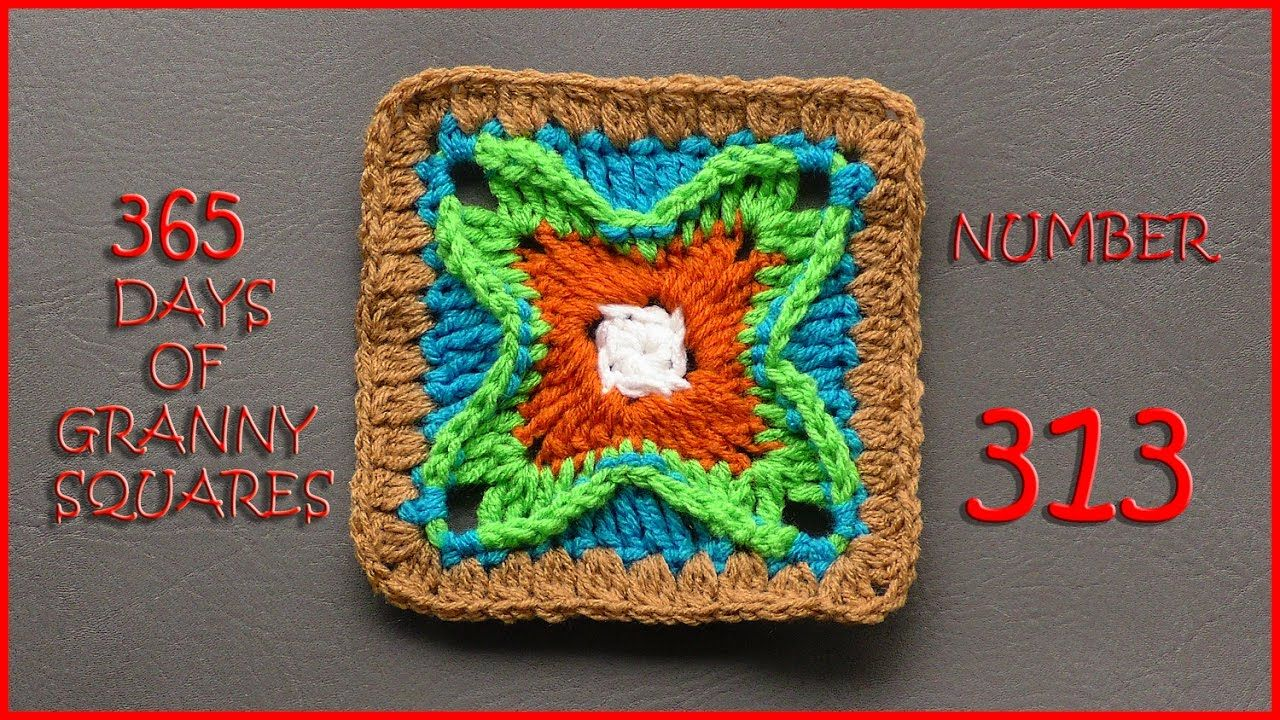 365 Days of Granny Squares Number 313