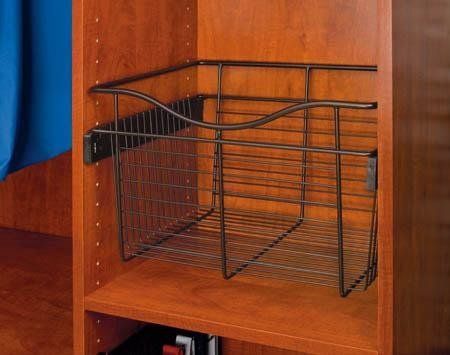 Amazon Com Rev A Shelf Cb 242011orb 5 24 X 20 X 11 Pull Out Closet Basket Oil Rubbed Bronze Rev A Shelf Oil Rubbed Bronze Pulls Oil Rubbed Bronze
