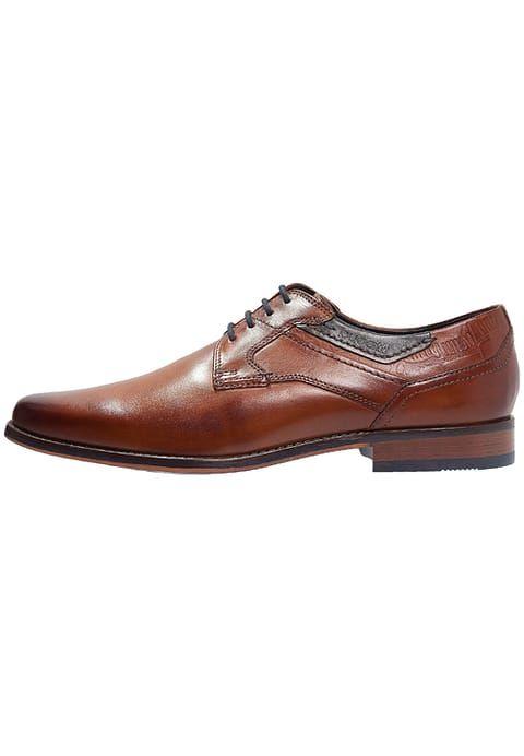 Bugatti Zapatos de traje con cordones cognac 61zQZ7vXq
