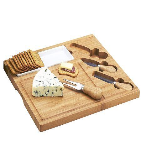 Picnic at Ascot Celtic Cheese Board Set Ceramic Dish
