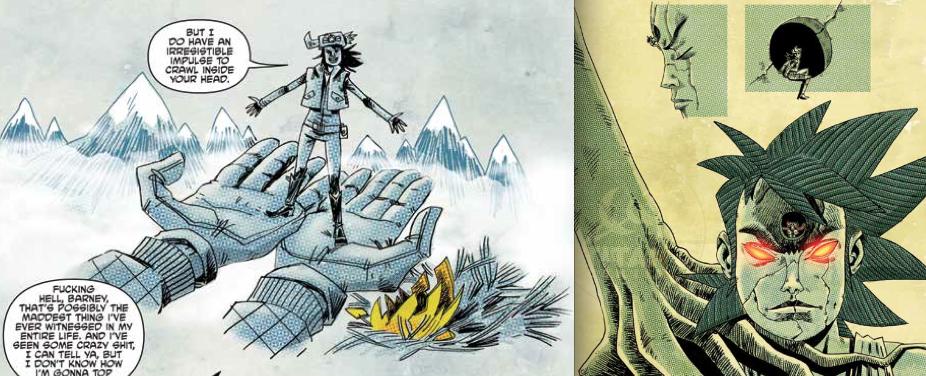 Туманные горы и Giant Head, Tank Girl: The Royal Escape, Сила Tank Girl, Руфус Дейк и Алан Мартин, IDW, Titan Comics, 2014