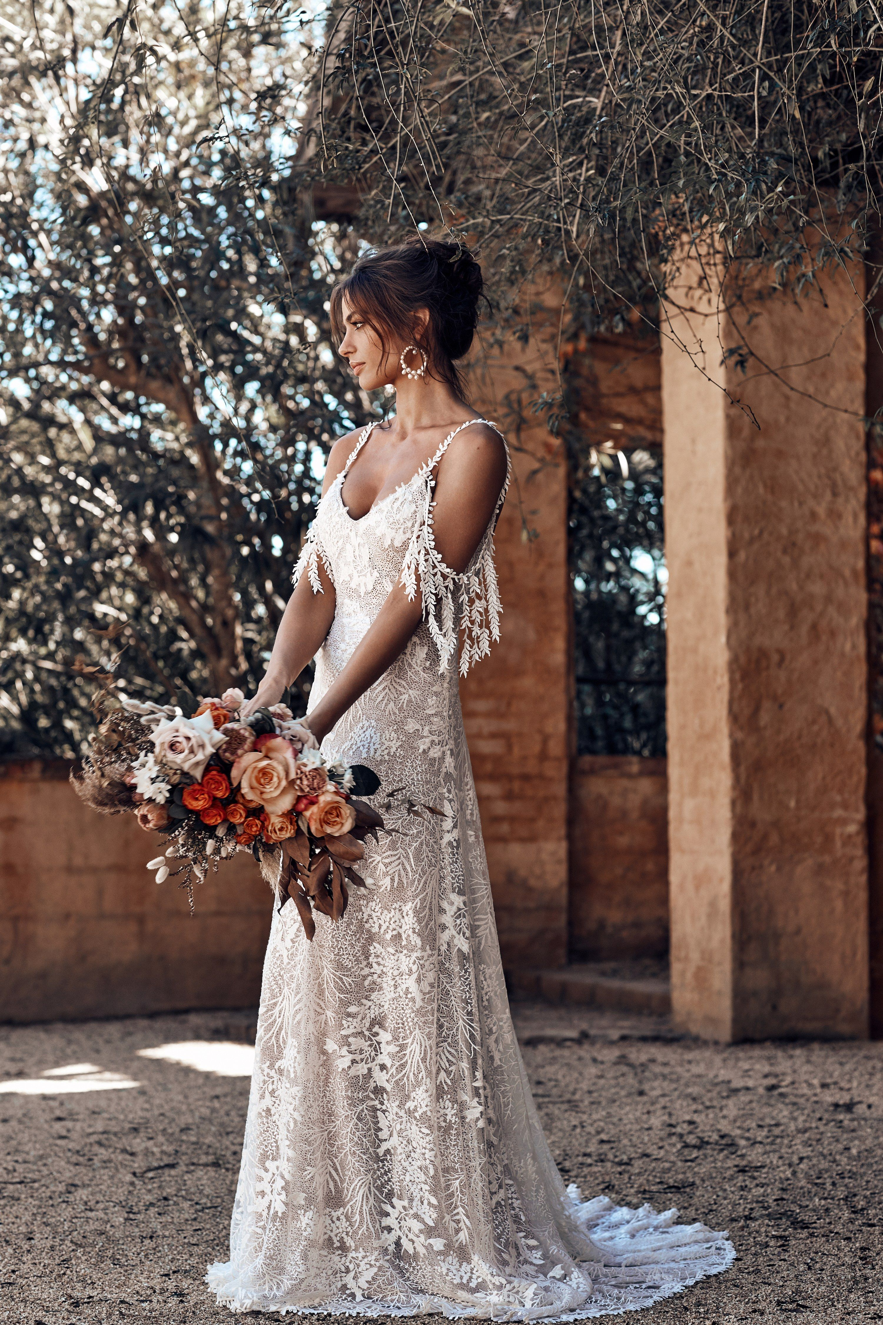 The designer behind the most pinned wedding dress is back with its