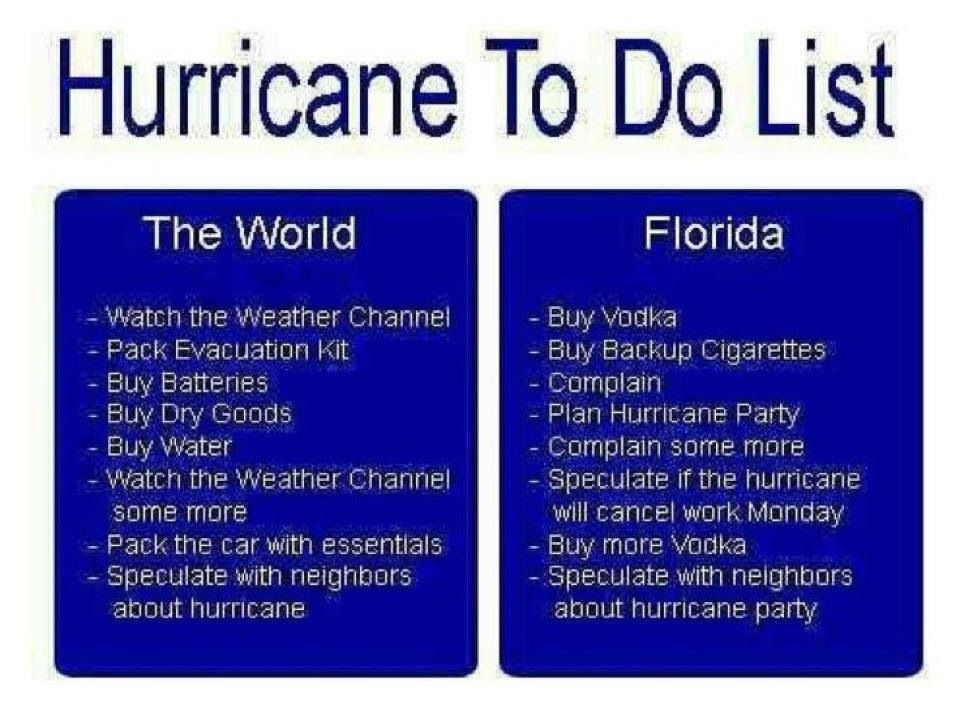 a3918a9b58d37ee3d76a41cf1592678c hurricane omg so true!! (but not just florida) laughter