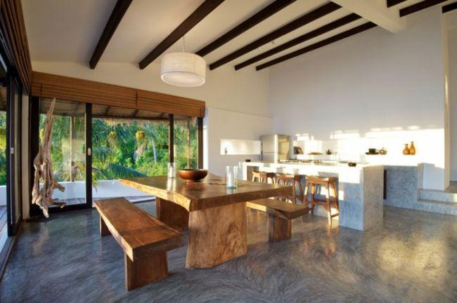 fassade wohnzimmer schiebetür holz möbel | wohnen | pinterest