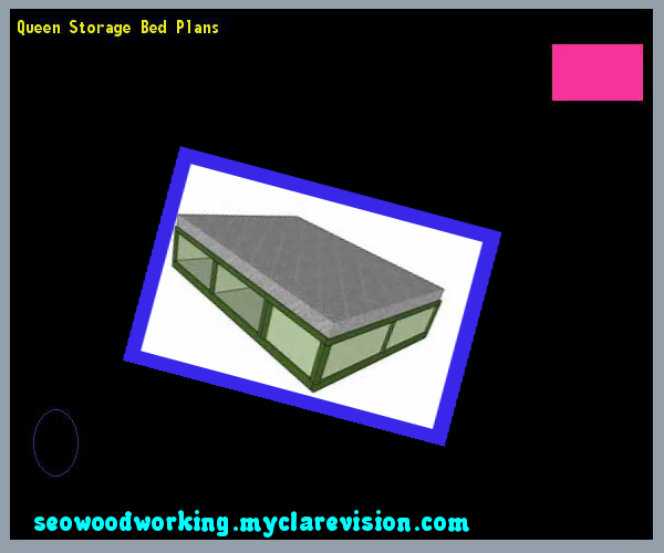 Queen Storage Bed Plans 080853 - Woodworking Plans and Projects!