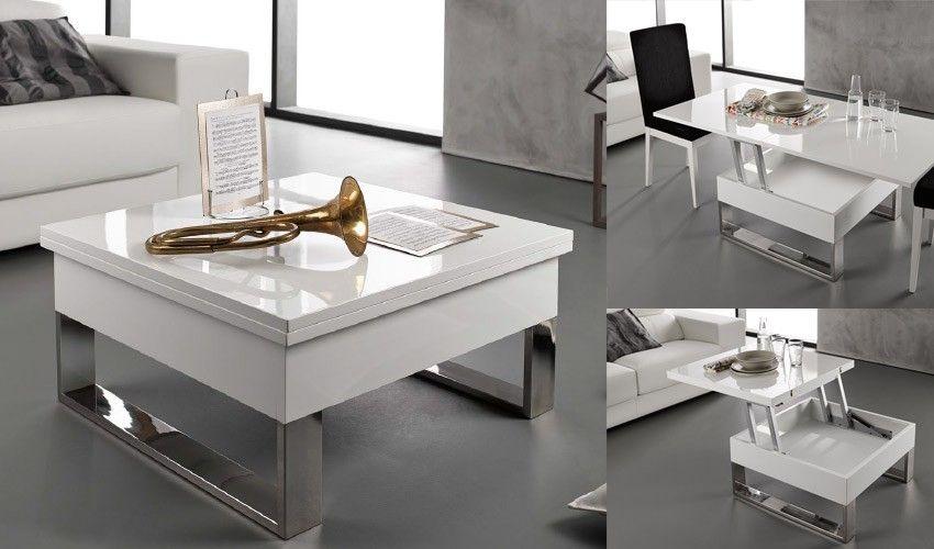 Mesa de Centro Elevable y extensible Ref M103000 | Centros ...