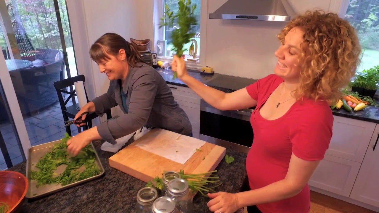 Comment conserver ses fines herbes youtube - Comment conserver les carottes ...