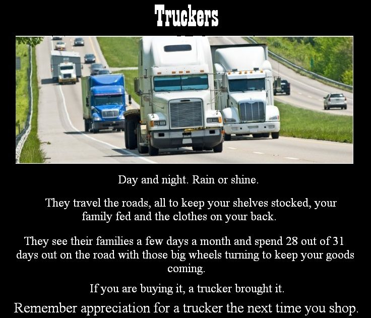 Truckers Wife Poems National Truck Driver Appreciation
