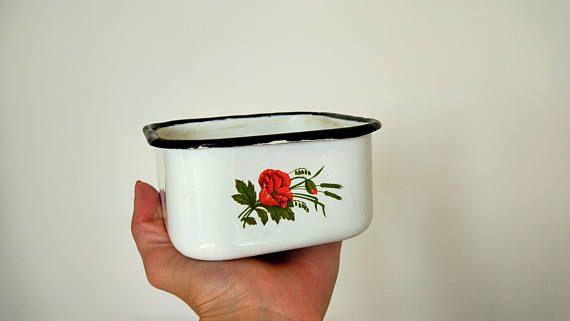 USSR metal dishesmade in USSRstorage containerenamel container kitchen ussrenamel dishussr enamel cupsoviet vintageRustic tableware & USSR metal dishesmade in USSRstorage containerenamel container ...