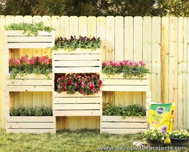 Adorable Pallet Wall Planter Ideas | Pallets, Planters and Walls