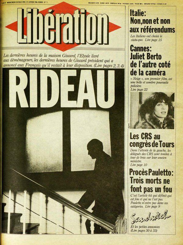 "Jérôme Balazard sur Twitter : ""Il y a 35 ans dans @libe: ciao Giscard! https://t.co/PKjFEmxRgP"""