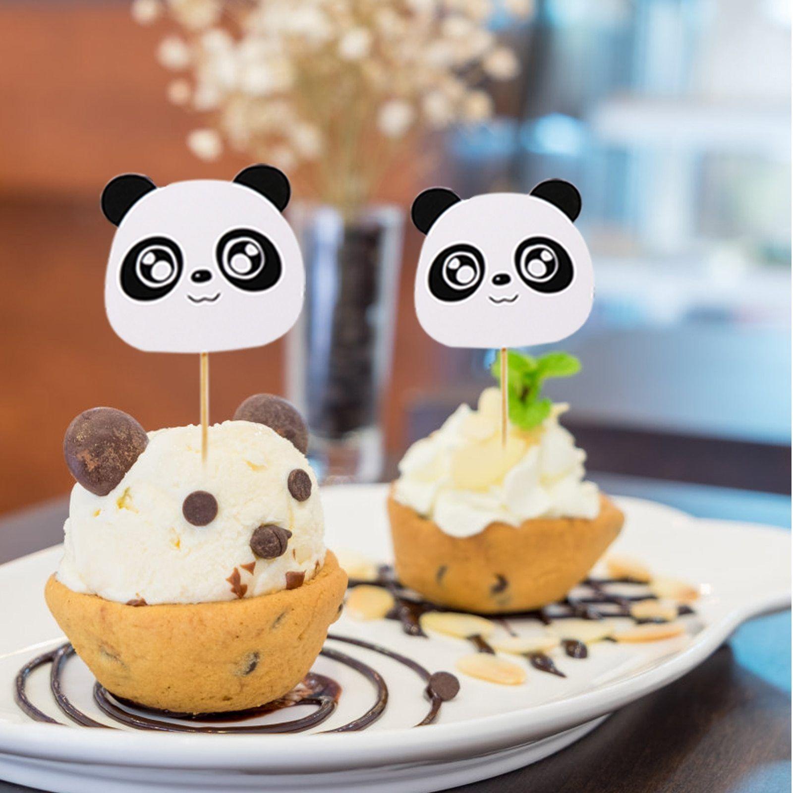 Panda theme birthday party decoration cartoon panda foil