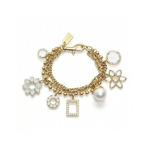 Coach Motif Charm Bracelet So Sweet Thing Lovely Bracelet