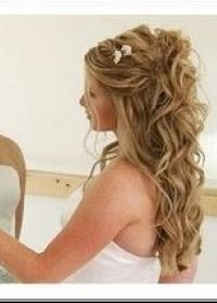 Coiffure mariee cheveux longs laches