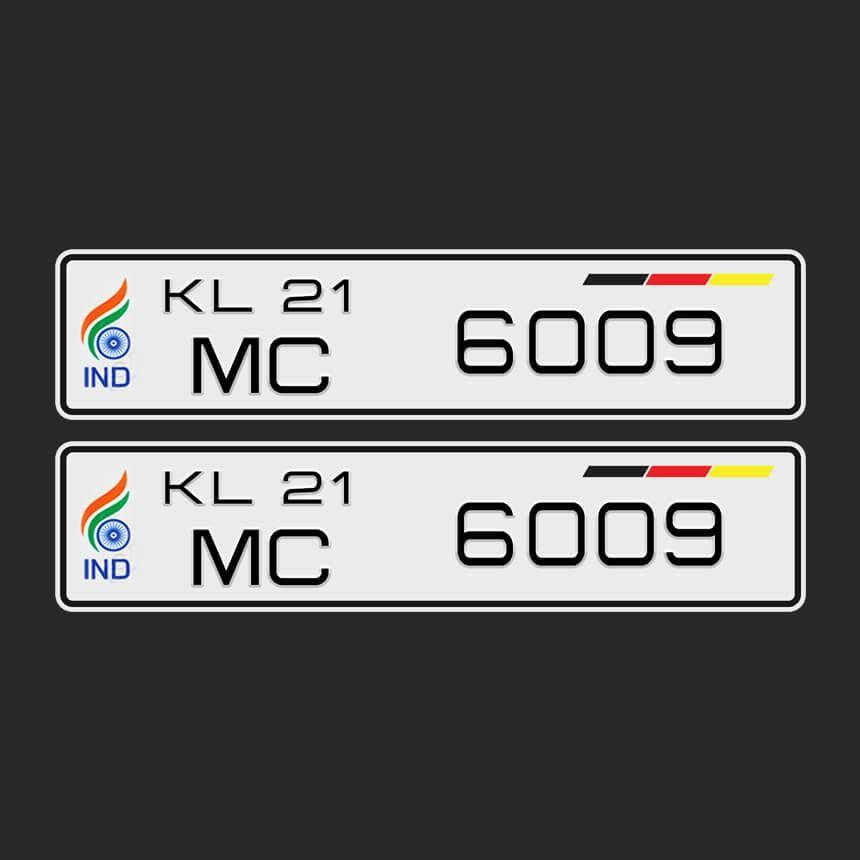 Orbiz Euro Special Car Number Plates Number Plate Design