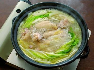 鶏と白菜のチゲ