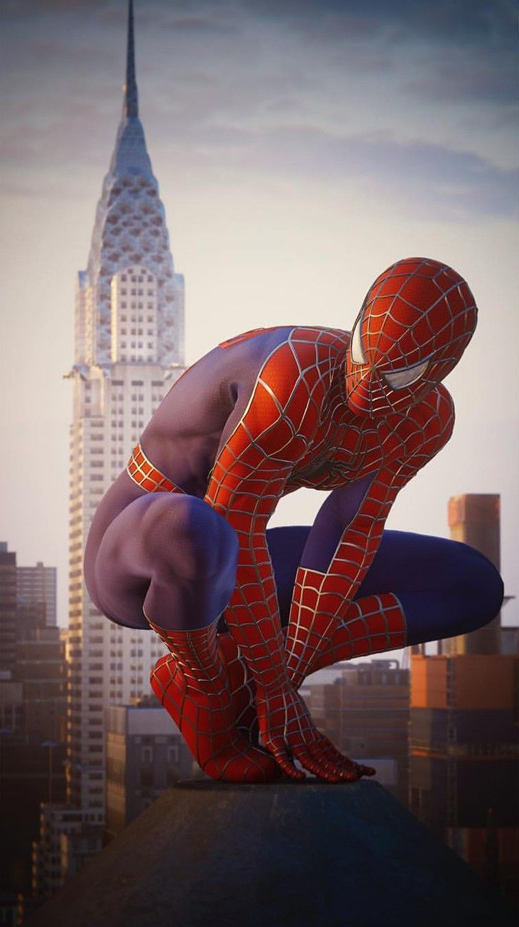Spiderman Ps4 Traje De Tobey Maguire Heros Marvel