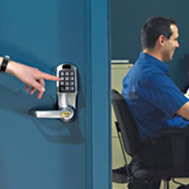 Kaba 4000 Series 4000 Series Locks Quickly Replace Any Traditional Key Operated Door Lock Providing Code Access And E Access Control Electronic Lock Control